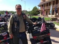Black Hills Chapter Road Captain Fred Nelson is ready to Ride.